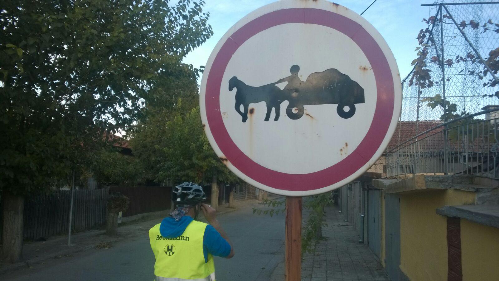 Fuhrwerke verboten ...