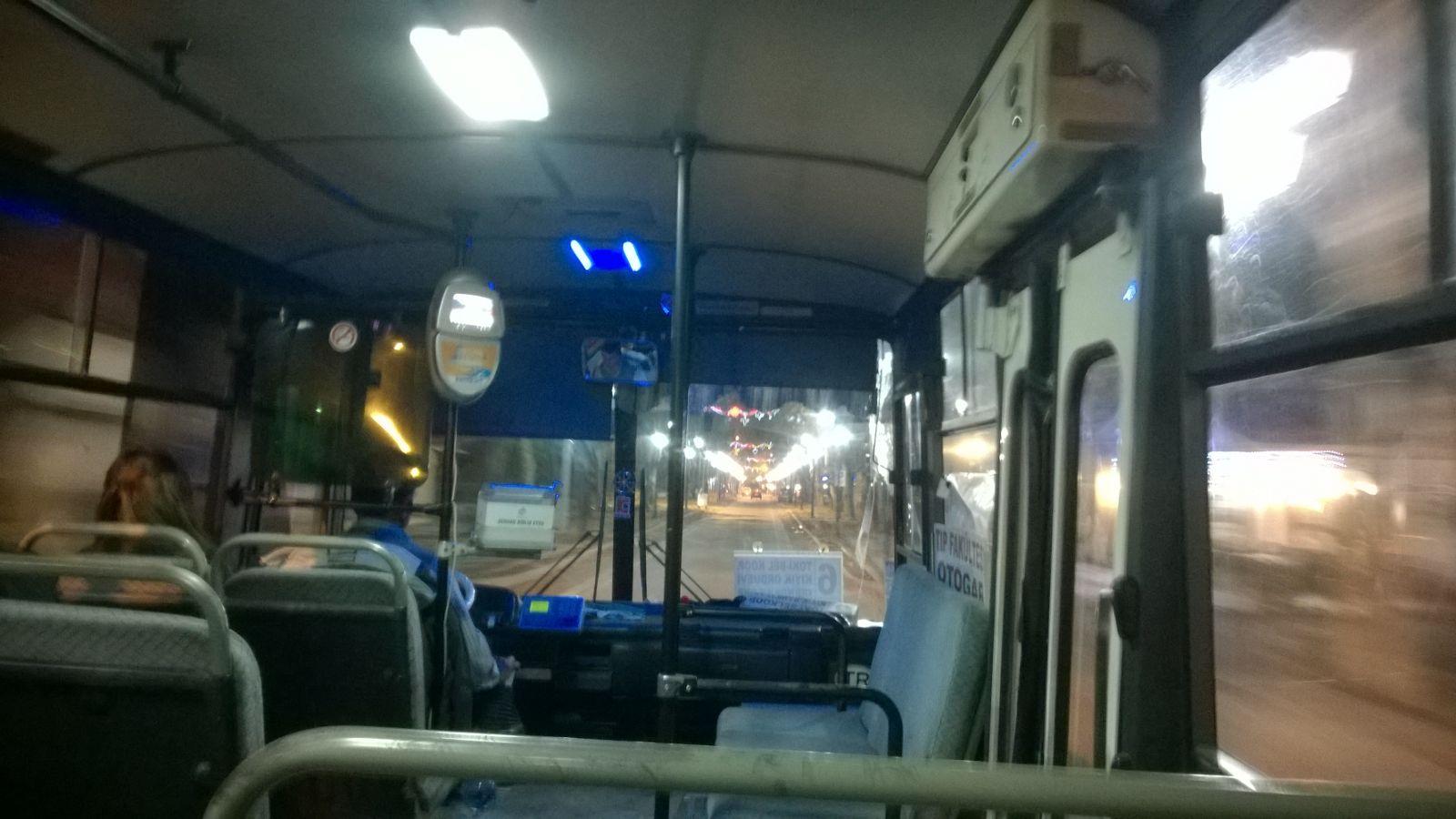 ... während der Minibusfahrt für 2,5 Türkische Lira (weniger als 1€)