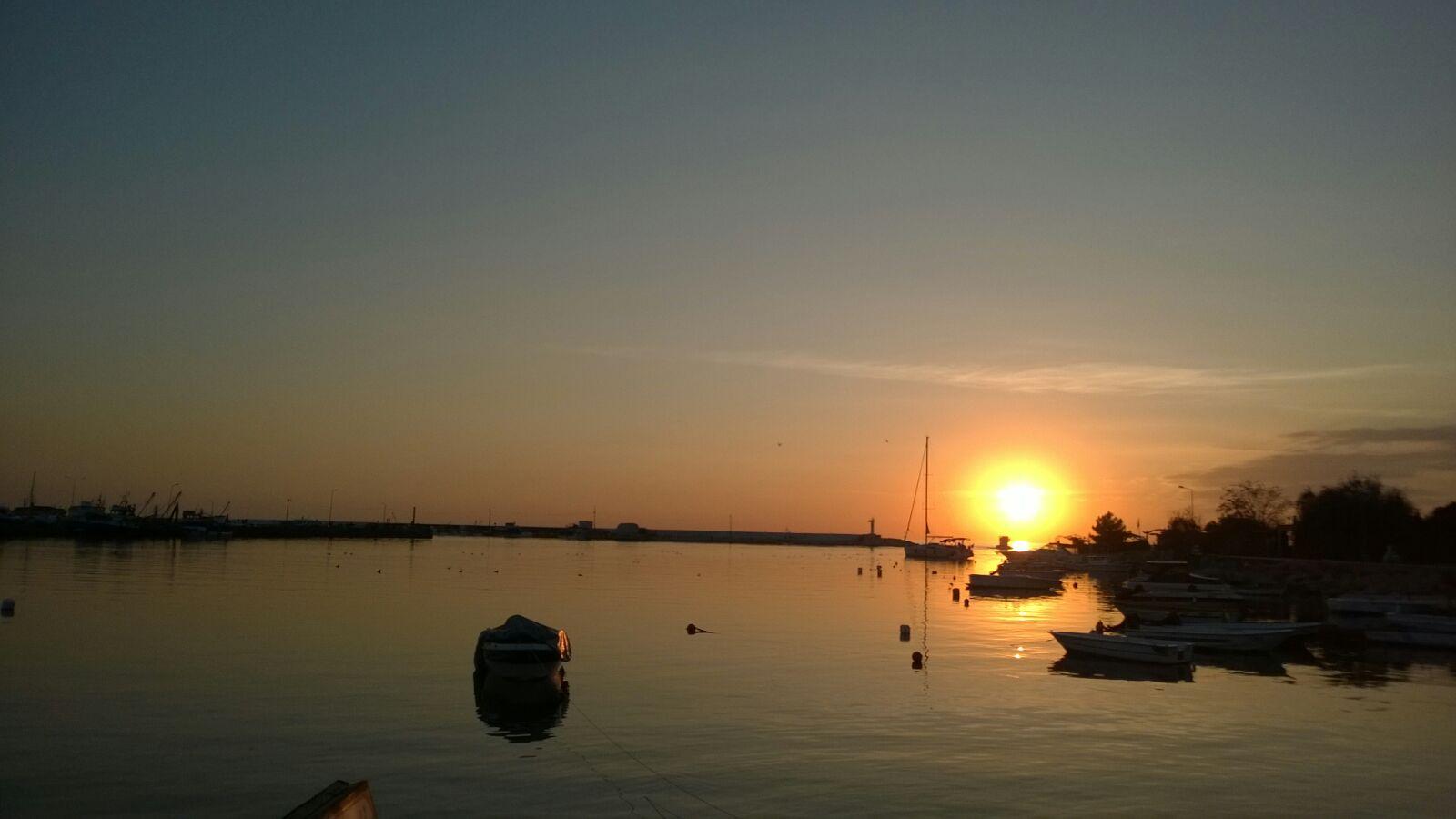 ... Abenddämmerung über Silivri ...
