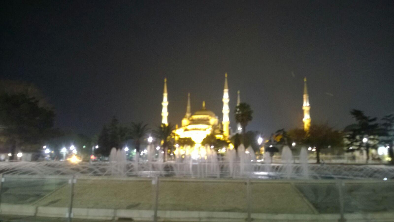 Sultanahmet oder Blaue Moschee.