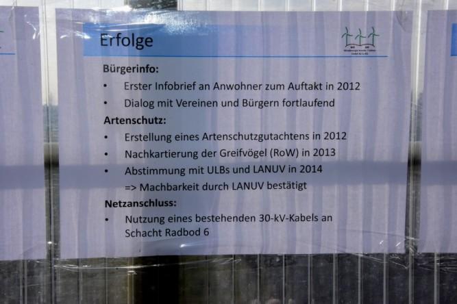 (C) 13.03.16. Windpark Isenburg: MIt viel Geld, Arbeit und Liebe geplant, mit einem Wimpernschlag zerstört - unsere HammSPD.