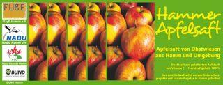 Titelbild Hammer Apfelsaft von FUgE