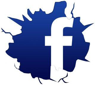 Image 'Facebook zerschlagen'