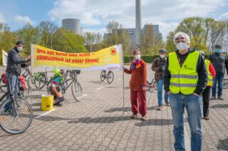 Mahnwache Tschernobyl & THTR-300