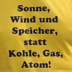 T-Shirt-Design des Aktionsbündnis Energiewende Münsterland & Hamm, 2016