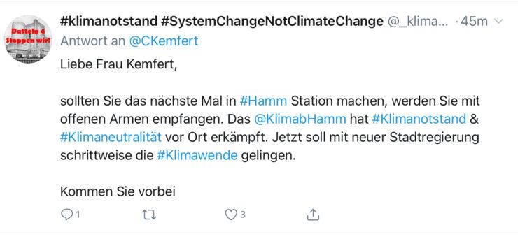 Tweet von Claudia Kemfert, 01.12.2020 - 2 von 3