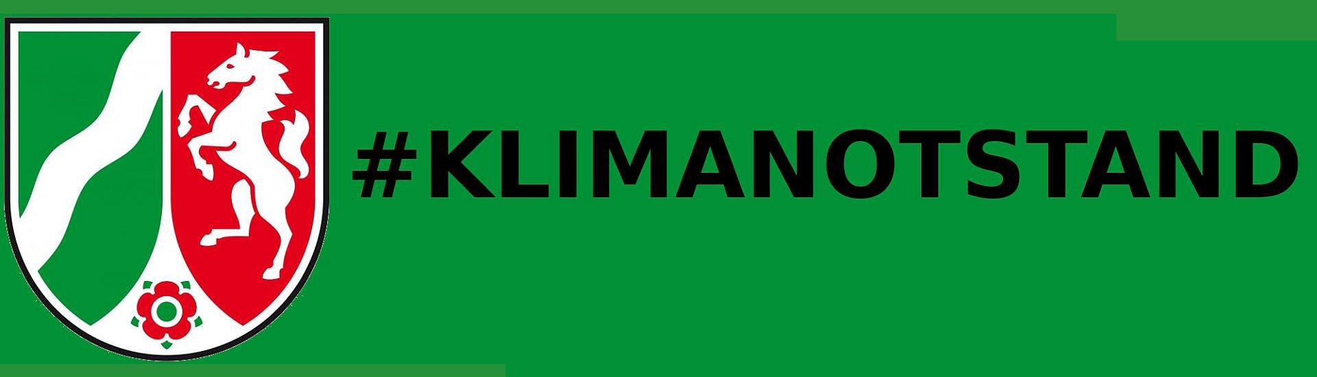 Logo Klimanotstand NRW 2000x532