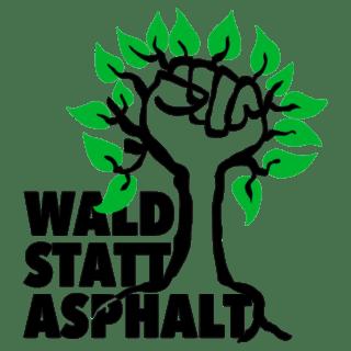 Logo Bündnis 'Wald statt Asphalt'