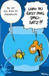 Cartoon von Ruthe: Greta als Fisch