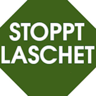 """Button """"StopptLaschet"""""""